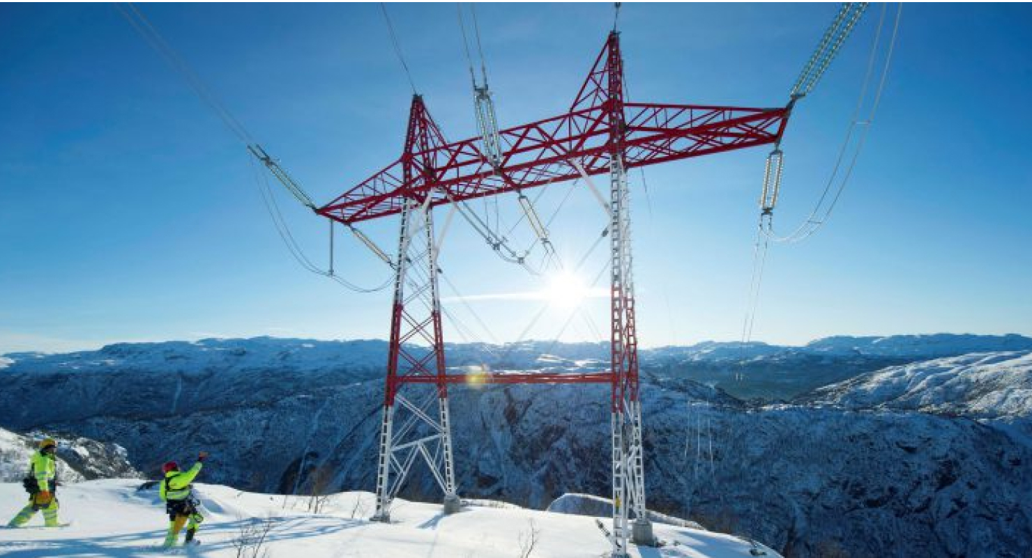 Tower Electricity Winter